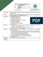 SPO Penyusunan Prosedur Layanan Klinis