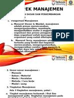 Modul 9 Aspek Manajemen