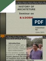 b.v.doshi