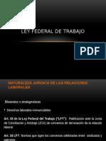 Ley Federal de Trabajo Equipo 7