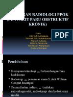 Gambaran Radiologi PPOK (Penyakit Paru Obstruktif Kronik