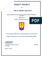 Loan & Credit Facility Provided by Different Banks