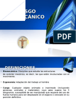 (Presentacion 13) Riesgo Biomecanico