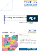 Century National Bank Analysis