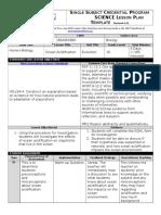 edsc 442 investigation lesson plan