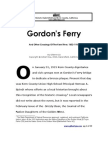 Gordon's Ferry 1852-1937