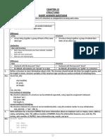 Class 11 Structure Sumita Arora Solved Assignment