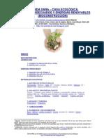 CASA ECOLÓGICA.-Materiales adecuados sin químicos tóxicos (Bioconstrucción)