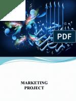 Marketing Project Pre