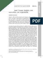 'Illegitimate' Loans - lenders, not borrowers, are responsible.pdf