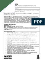 It Solution Architect - Job Description