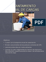 Levantamiento Manual de Carga