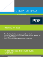 the history of ipad
