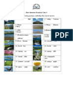 Land Forms Examination