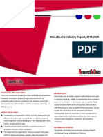China Dental Industry Report, 2016-2020