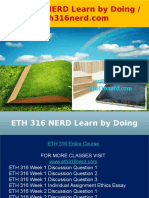 ETH 316 NERD Learn by Doing - Eth316nerd.com