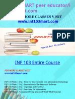 INF 103 MART Peer Educator-Inf103mart.com