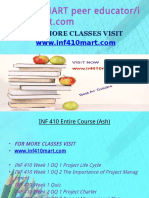 INF 410 MART Peer Educator-Inf410mart.com