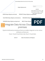 Cloud Data Integration Modern IPaas and Cloud-On-Premise Diyotta