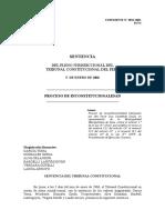 Tc Inconstitcuionalidad de Proceso Coactivo