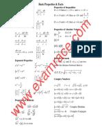 Mathematics Algebra