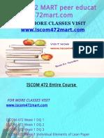 ISCOM 472 MART Peer Educator-Iscom472mart.com