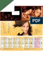 catalogo cosmeticas 2009