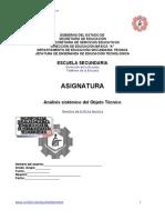 Nvo Formato de Analisis Sistemico de Objeto Tecnico en Blanco
