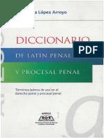 Diccionario de Latín Penal y Procesal Penal
