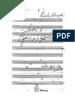 Paganini Gran Viola Original Manuscript Viola Chitarra Partitura