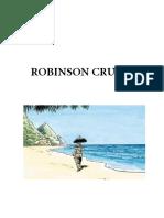 Robinson Crusoé Quadrinhos Trecho