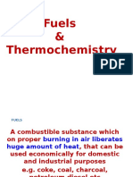 Fuels and Thermochemistry