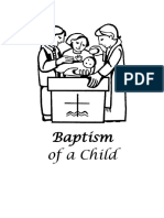 Baptism of a Child