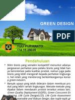 Green Design_Yuli Purwanto_Ekologi Industri