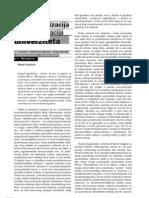 Djordje Krajisnik - Postratna Fragmetarizacija Univerziteta