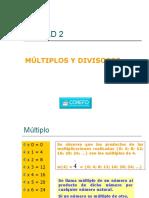 Unidad 02 Multiplos y Divisores