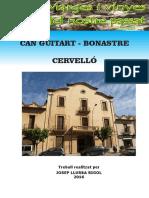 Casa Guitart-Bonastre Cervelló