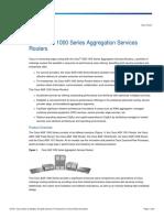 Cisco ASR 1000 Datasheet