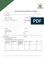 Lawstudents Application-Mumbai,June 2016
