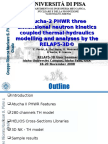 Atucha-2 PHWR Three Dimensional Neutron Kinetics Coupled Thermal-hydraulics Modelling and Analyses