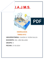 tarea 3 hidrologia