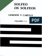 solfeo de los solfeos - volumen 1a - lemoine y carulli.pdf
