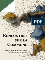 Invitation Rencontres Sur La Commune Zad