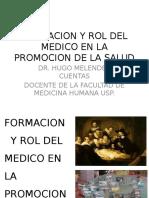 2daClase-Formacion y Rol Del Médico en PROMS