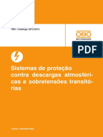 Katalog-TBS_pt - Sistemas de Proteção Contra Descargas Atmosféricas e Sobretensões Transitórias