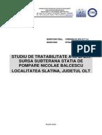 Studiu Tratabilitate Apa Slatina Balcescu v02