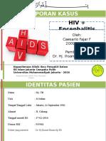 Lapkas HIV + enchepahlitis