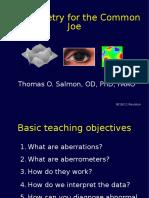 Basic Aberrometry