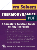113937981 the Thermodynamics Problem Solver Fogiel REA Small