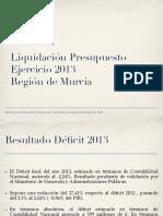 101386-Liquidación de Presupuestos 2013 (Provisional)